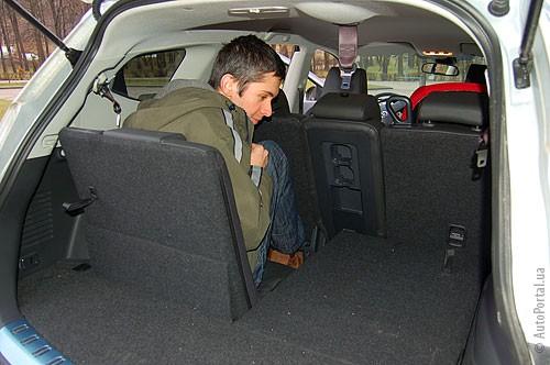 Улучшенная планировка, сравнительный тест Nissan Qashqai + Nissan Qashqai+2