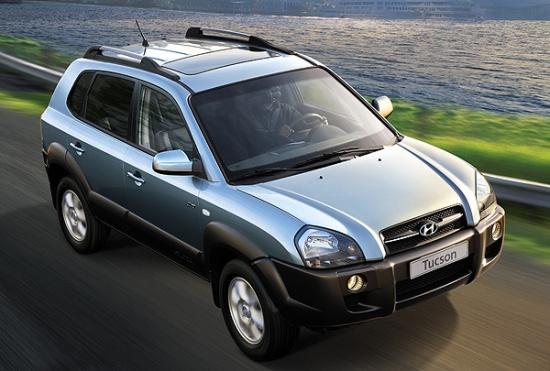 Hyundai Tucson на российском рынке