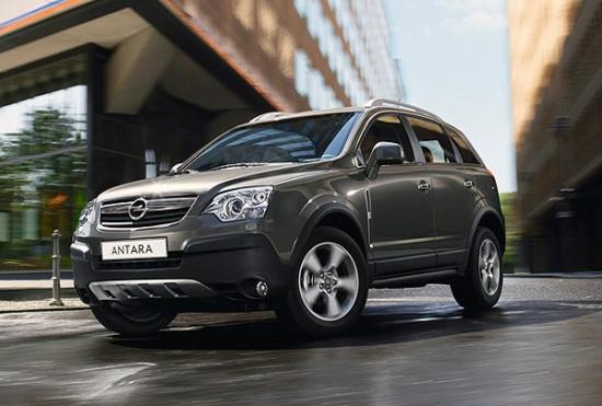 Opel Antara на дорогах России