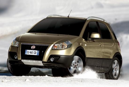 Fiat Sedici на рынке России