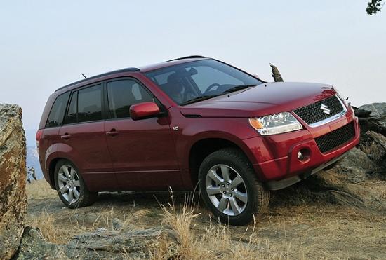 Suzuki Grand Vitara на вторичном авторынке России