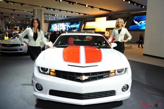 Девушки Детройтского Автосалона (фото)