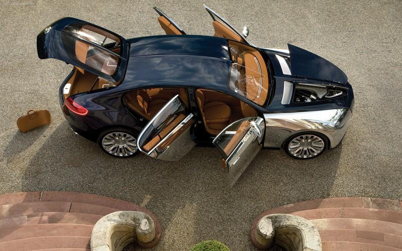 Bugatti Galibier: совсем небюджетный седан