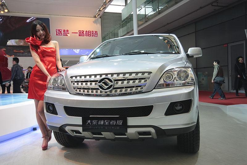 Китайские автомобили-клоны на моторшоу в Шанхае
