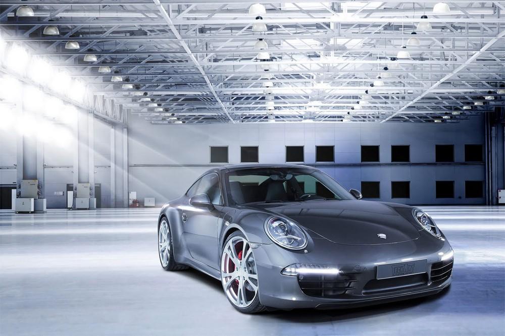 Первые новости от тюнигованного Porsche 911