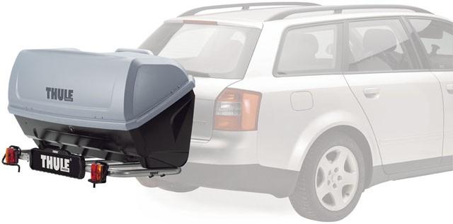 Багажник на фаркоп автомобиля