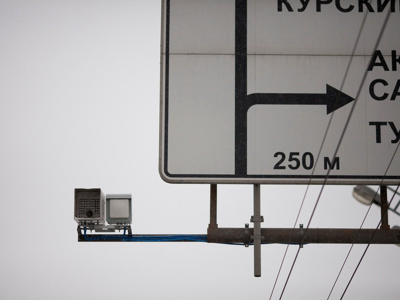 Количество зафиксированных дорожными камерами нарушений ПДД исчисляется в миллионах
