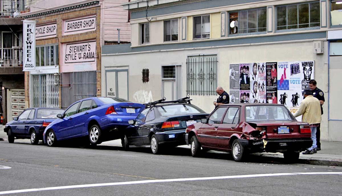ДТП при парковке