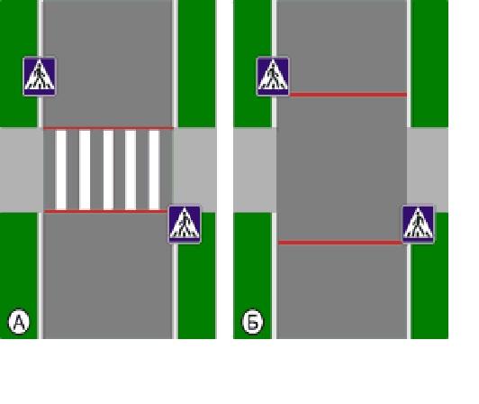 Пешеходный переход по ПДД