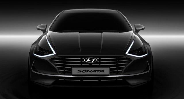 Hyundai Sonata 2019 года — фото, цена, характеристика