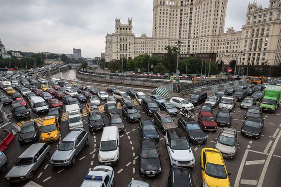 Пробки на дорогах в реальном времени