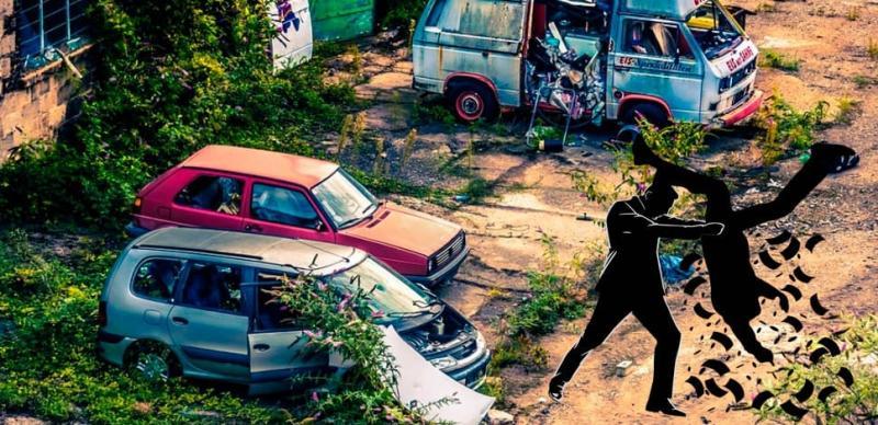Новые штрафы за брошенный автомобиль во дворе и за мытьё машины – правда или нет?