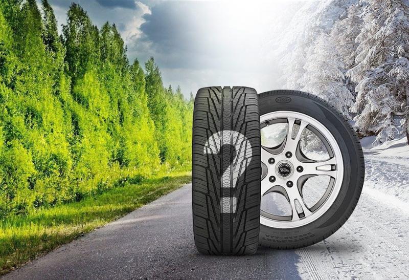Почему в теплое время года автомобилю нужны именно летние шины